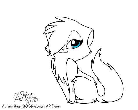 warrior cats pdf free warrior cat adoptable lineart by az coloring pages