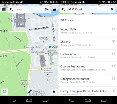here maps android nokia here now available on play offline maps and more ghacks tech news