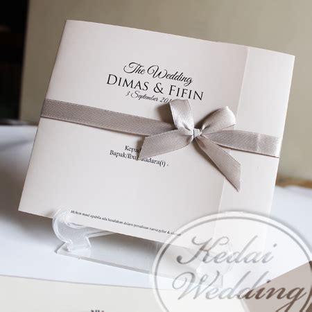 desain undangan pernikahan simple elegan undangan pernikahan simpel tapi elegan undangan pernikahan