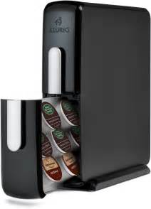 catalog detail keurig black k cup counter top storage drawer