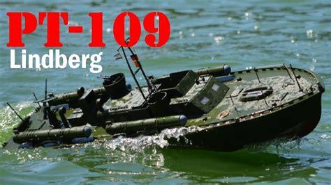 pt boat 109 pt 109 lindberg rc scale model boat youtube