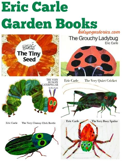 eric carle picture books eric carle books and garden stories