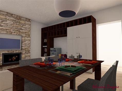 parete camino e tv biocamino e tv su parete attrezzata