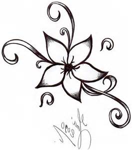 doodle flowers how to easy flowers to draw drawing artisan