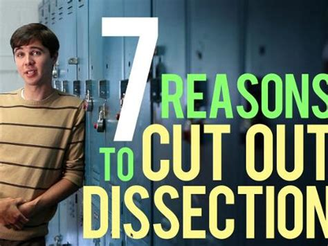 10 Reasons To Cut On Now by Peta2 S Top 7 Reasons To Cut Out Dissection Peta