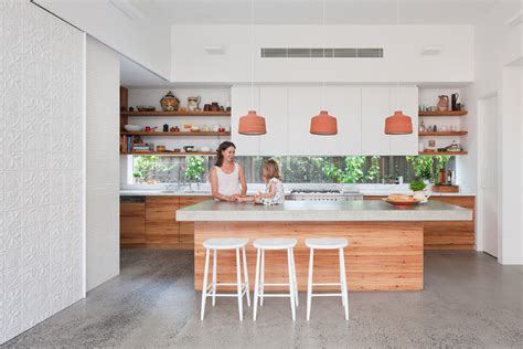 Apartment Galley Kitchen Ideas by 8 Sensational Splashback Materials And Not A Tile In