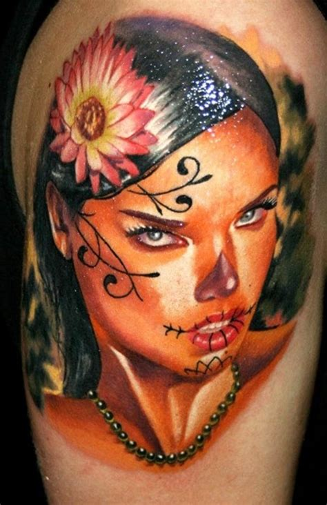 santa muerte tattoos 50 drop dead gorgeous santa muerte tattoos tattoomagz