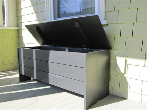 outdoor bench with storage waterproof garden storage bench