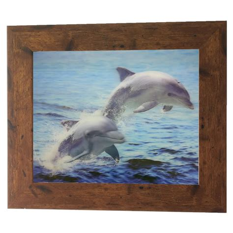 dolphin home decor happy dolphin lenticular 3d picture poster painting home