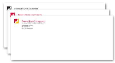 Clark College Letterhead graphic standards ferris state