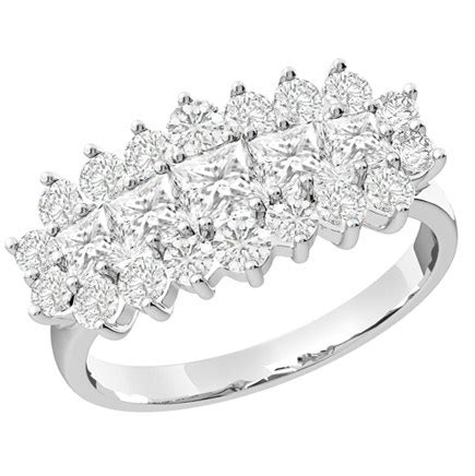 dress cocktail ring cluster engagement ring for in