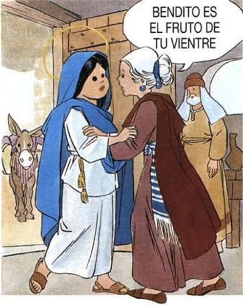 imagen de la virgen maria visitando a su prima isabel siguiendo tus huellas visitaci 211 n de la virgen mar 205 a a su