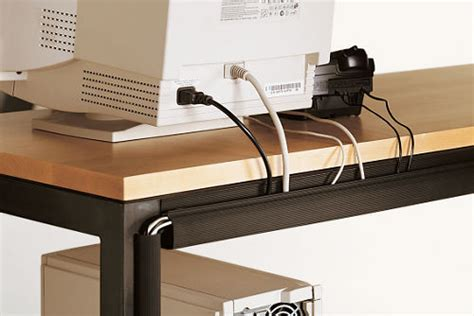 Desk Cable Management Solutions cord management straps contemporary cable management