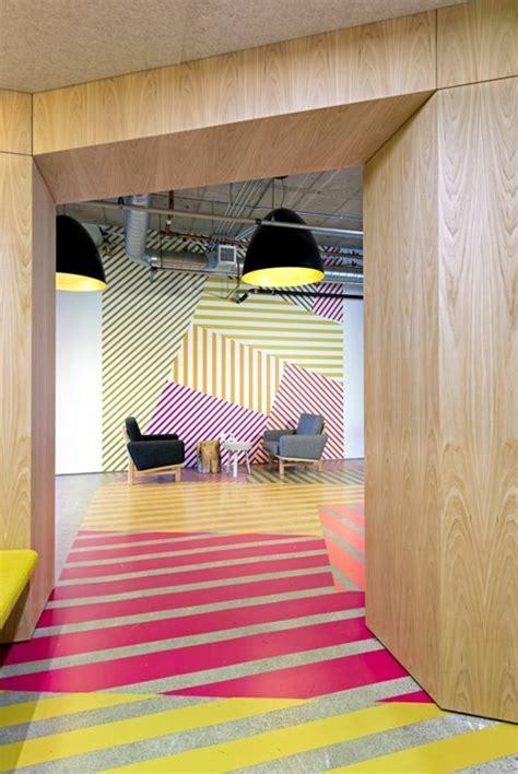 Wandgestaltung Mit Streifen by Geometrische Formen Tolle Wandgestaltung Mit Farbe