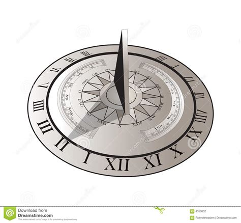 sundial stock photography image 4350852