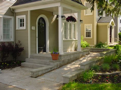 Modern Farmhouse Porch by Wheel Chair Ramp On Pinterest Wheelchair Ramp