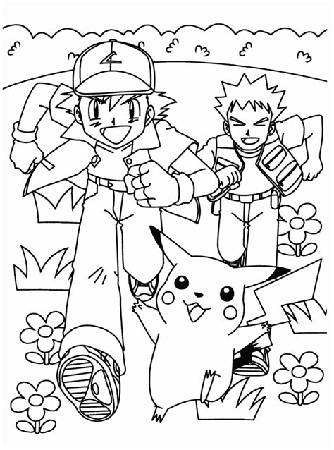 coloring pages pikachu and friends pikachu and friends pokemon colouring pages
