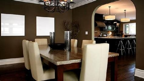 chocolate brown walls in dining room archives house decor picture