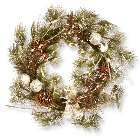 national tree company 24 in christmas artificial wreath