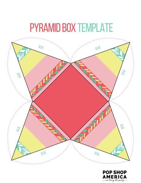 Teepee Pyramid Treat Box Template Treat Box Template