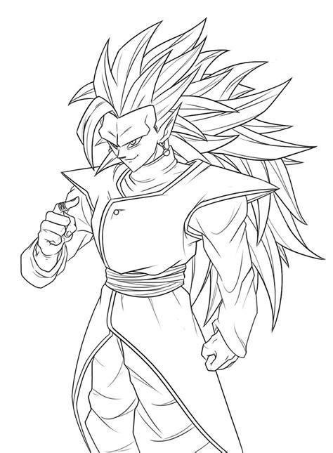 Zamasu-SSJ3 - Drawing Process by Greytonano on DeviantArt