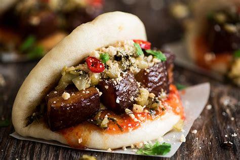 pork belly mantou curious nut