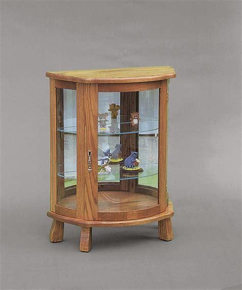 small oak curio cabinet amish small curio cabinet cabinets matttroy