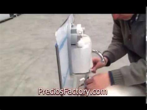 lavamanos con sarro youtube montaje lavamanos aut 243 nomo portatil youtube