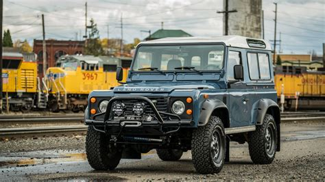 defender land rover road 1990 land rover defender 90 hd wallpaper and