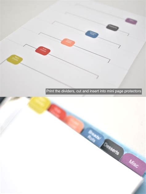 small binder calendar template 92 best tab images on free printables