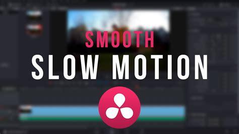 tutorial instagram slow motion smooth slow motion tutorial davinci resolve 12 5 14