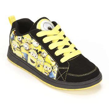 despicable me 2 minion athletic shoes from kohl s