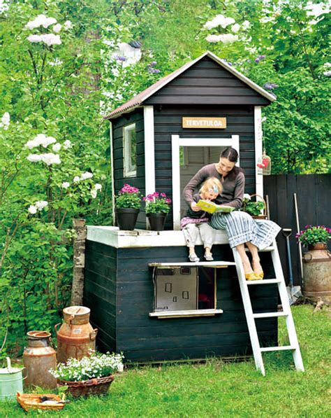 Handmade Home Playhouse - playhouse for modern home exteriors