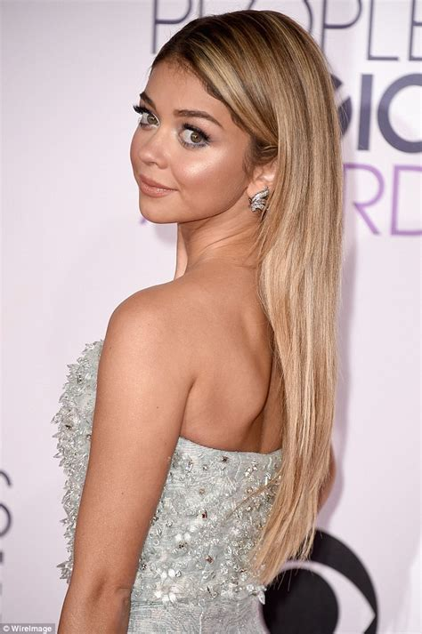 Blondes have more fun i m having a blast sarah hyland shows off