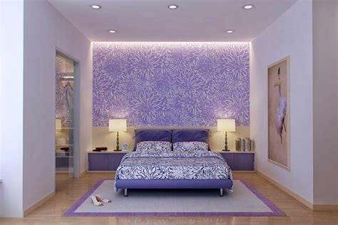 Purple And White Bedroom Ideas Beautiful Purple And White Bedroom Design Interior Design Ideas