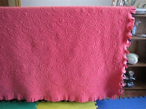 quilting blanket tutorial quilting in the bunkhouse fleece blanket tutorial