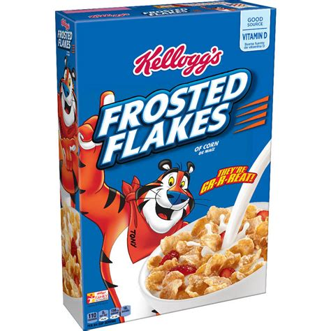 whole grain kellogg s cereal kellogg s frosted flakes cereal size 33 ounce