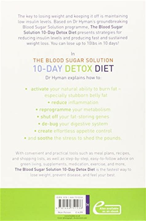 The 10 Day Detox Diet Cholesterol Solution by The Blood Sugar Solution 10 Day Detox Diet Activate Your