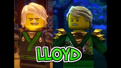 Lego Ninjago Vs lego ninjago characters vs ninjago tv show