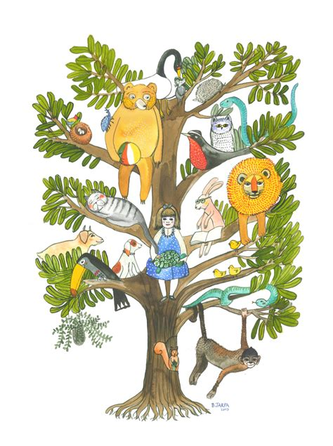 el rbol de los mis dibujos el arbol de los animales