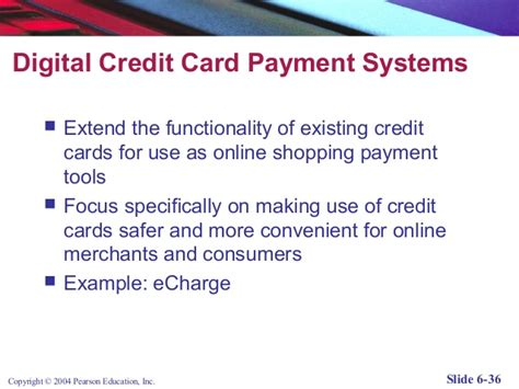 make credit card payment with another credit card lecture 4 e commerce 2 payment systems