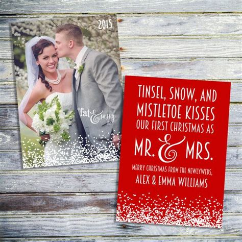 christmas for newlyweds best 25 newlywed card ideas on