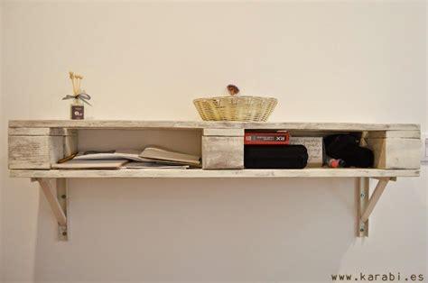 estantes con palets estante recibidor estilo shabby con palets espais