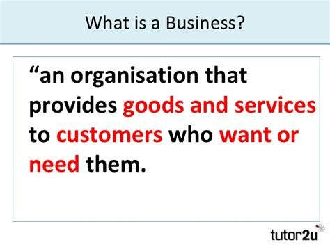 What Is A what is a business