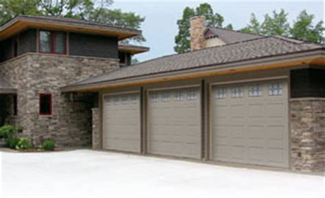 Sandstone Color Garage Door by Hudson Overhead Door Garage Door Installation In The