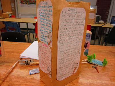 Brown Bag Book Report Grade by Runde S Room Paper Bag Characterization