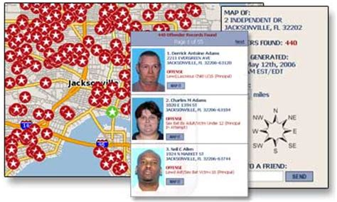 registered sexual offender map 448 find local offenders america s best lifechangers