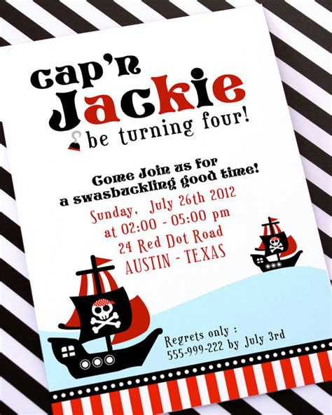 printable birthday invitations pirate diy printable invitation card red pirate birthday party
