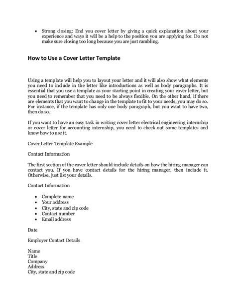 exle for a cover letter every application s sle cover letter that works