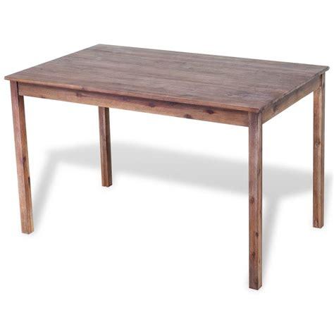 Acacia Wood Dining Table Vidaxl Co Uk Vidaxl Dining Table Solid Acacia Wood 120x70x75 Cm